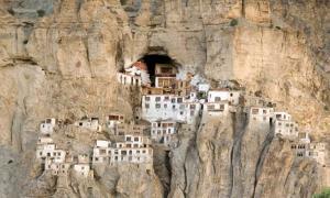 The Phugtal Monastery, India