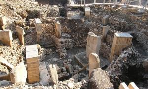 Archaeological site of Göbeklitepe in Turkey