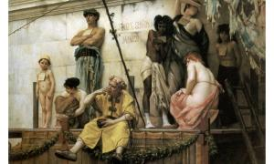 'The Slave Market' (1886) by Gustave Boulanger.