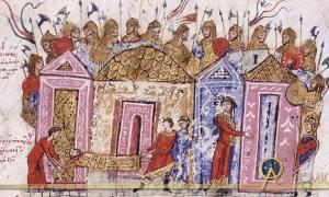Varangian Guard .Chronicle of John Skylitzes 13th Century