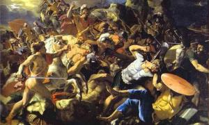 """The Victory of Joshua over the Amorites"""