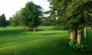 The remnants of the Octagon Earthworks can still be seen on what is now a golf course in Newark, Ohio. The people of the Hopewell Culture built this structure and others there between 100 BC and 500 AD.