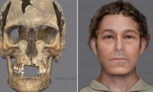 The skeleton of a man believed to have been in his fifties was discovered near a gibbet used to execute criminals.
