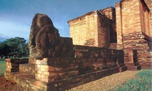 The temples of My Son, built by the Kingdom of Champa.