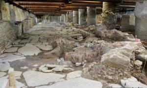 Thessaloniki Byzantine Underground Road