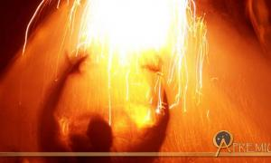Gods and the creative and destructive power of fire.