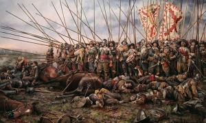 The Battle of Rocroi, by Augusto Ferrer-Dalmau.
