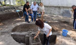 Newly discovered Thracian pit sanctuary in Burgas, Bulgaria  Source: RHM Burgas