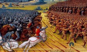 Painting of the Battle of Nicopolis – or the Crusade of Nicopolis