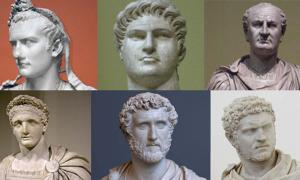 Six of the Roman Emperors: