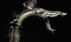 Carnyx, a Celtic war trumpet found in the Gallic sanctuary of Tintignac.          Source: Harrsch, M / CC BY-NC-SA 2.0