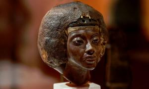 Tiye, the Great Royal Wife of Amenhotep III and mother of Akhenaten and grandmother of Tutankhamun