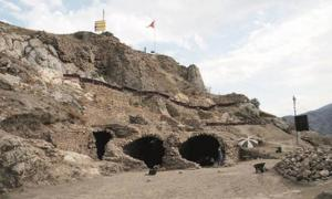 Newly-discovered tunnels and dungeons in Tokat Castle, Turkey