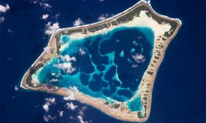 An aerial view of Atafu atoll in Tokelau         Source: DFAT / CC BY 2.0