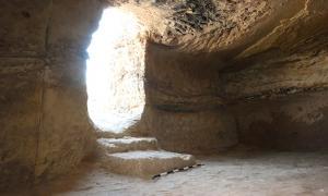 Doorway to Tomb 14, interior.