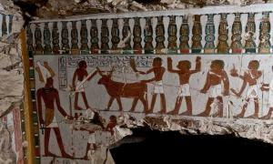 The Tomb of Amenhotep for the guardian to deity Amun has been discovered in Luxor.