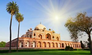 The Tomb of Humayun