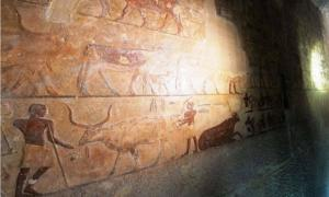 Two Ancient High Official Father and Son Tombs Opened at Pyramids Area in Egypt