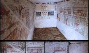 Tombs of ancient Egyptian priests
