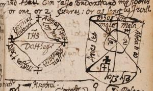 One of the pages from The Book of Magical Charms. Credit: The Newberry Library