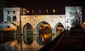 Pont des Trous in Tournai. Credit: Francois / Adobe Stock.