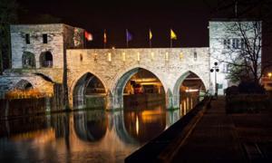 Pont des Trous in Tournai. Credit: Francois / Adobe Stock.