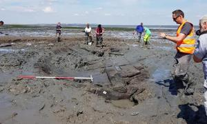 The shipwreck found on Tankerton beach last year is now protected.