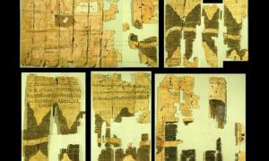 The Turin Papyrus: The Oldest Topographical and Geological Egyptian Map