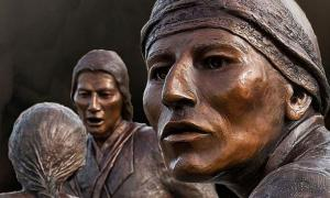 Tuscarora tribe Heroes Monument.
