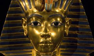 Tutankhamun's death mask