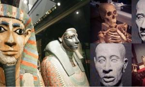 Khnum-nakht and Nakht-ankh are a popular attraction of Manchester Museum's Egyptology collection