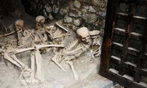 Skeletons in the' Boat Houses', Herculaneum