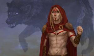 Tyr, Gleipnir and Fenrir.