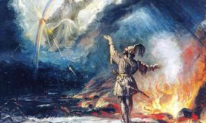 The Finnish sky god Ukko. Source: Risukarhi / Public Domain.