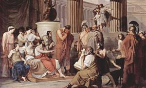 Ulysses at the court of Alcinous - Homer