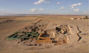 The Royal Palace of Urkesh, built around 2250 B.C. by king Tupkish.