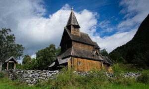 Urmes Stave Church, Norway