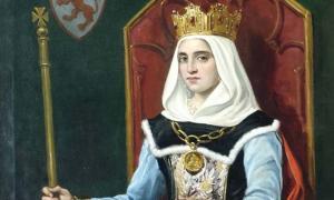 Urraca I of Leon by Jose Maria Rodrigues de Losada (deriv.)