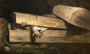 'The Premature Burial' by Antoine Wiertz