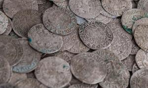 Trove of ancient Viking coins recovered. Source: bukhta79 / Adobe.