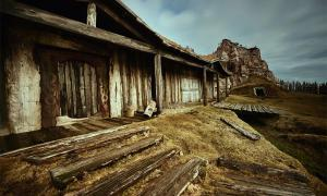 Representation of a Viking Hall.        Source: Roksolana / Adobe stock