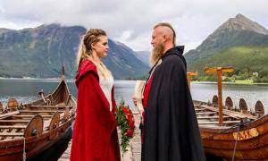 Rituals at a Modern Viking Wedding: A Blood Sacrifice, Bride Running, and Obligatory Drinking
