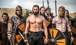 Image from 'Vikings', a medieval drama series airing on The History Channel.