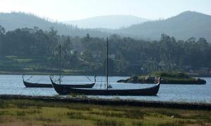 Viking longship replicas at Catoira, Galicia. Did the Vikings also make it to Madeira?  Source: CC BY-SA 4.0