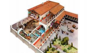 Virtual reconstruction of Villa Romano de Toralla
