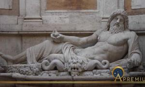 Marforio at the Musei Capitolini (Public Domain)