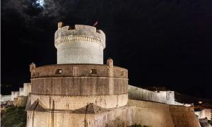Walls of the Middle Age city of Dubrovnik, Croatia - one of the filming sites of Game of Thrones (Wikimedia Commons)