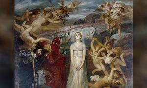 Detail of 'Walpurgisnacht' (Walpurgis Night) by Fritz Roeber.