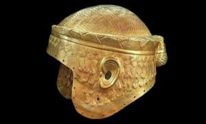The Spectacular War Helmet of Meskalamdug, the Powerful King of Kish