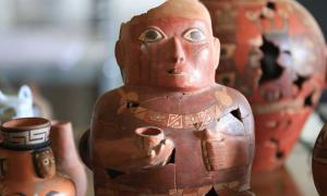 Ceramics give evidence of Peru's first empires               Source: Andina / Juan Carlos Guzmán Fair Use